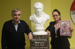 Dajana Raab saavutas rahvusvahelisel ajaloo-olümpiaadil pronksmedali